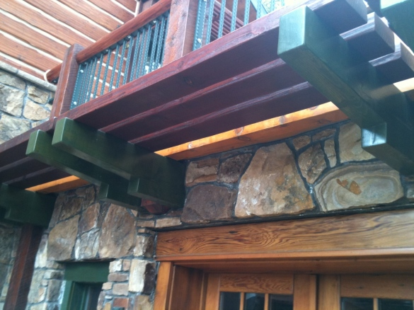 outdoor wood finishes