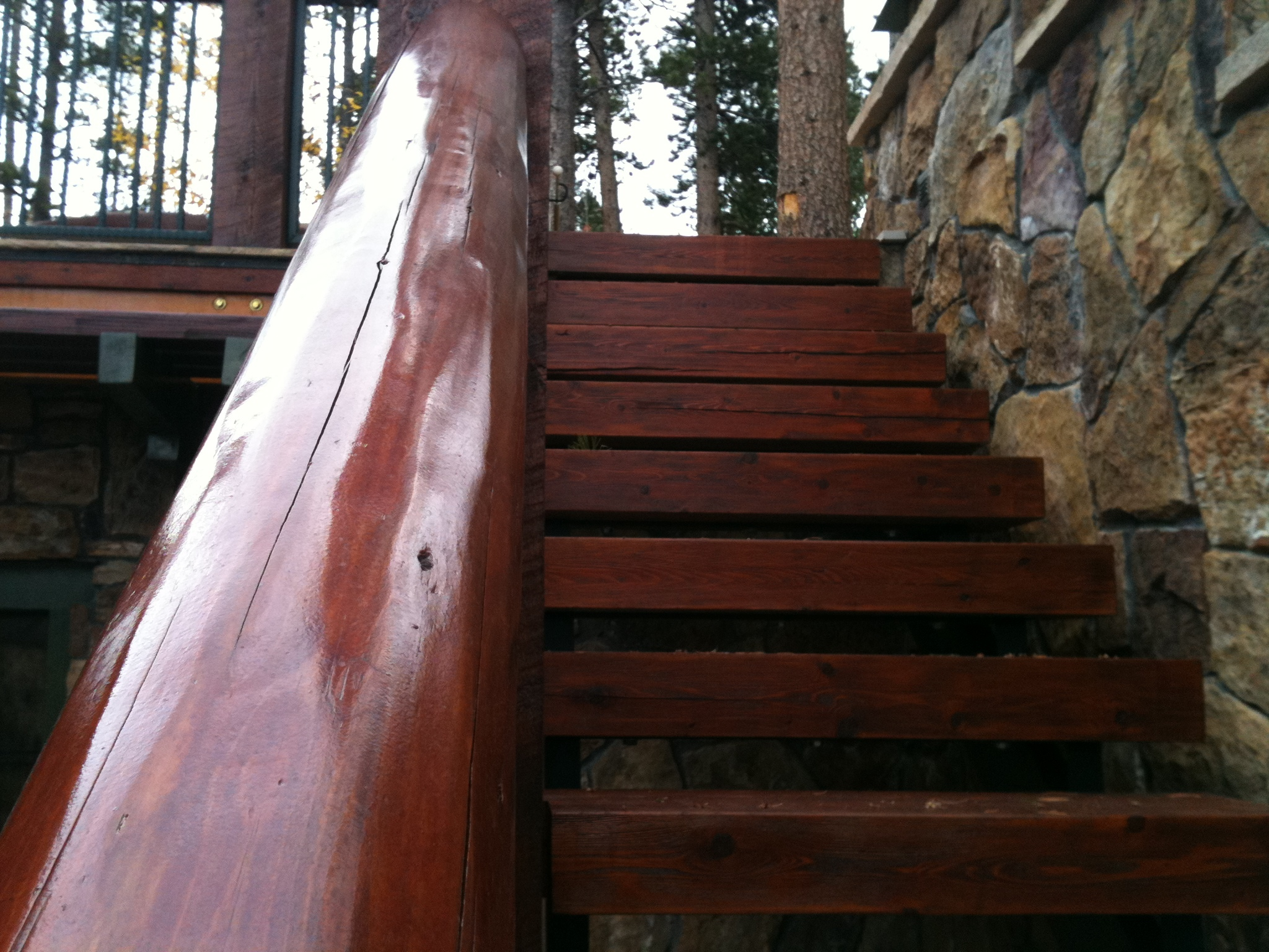 Superb SIkkens Stain   Log Oil Clear   Cetol System
