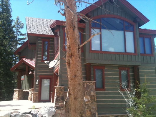 Log Home Staining Copper Mountain Colorado
