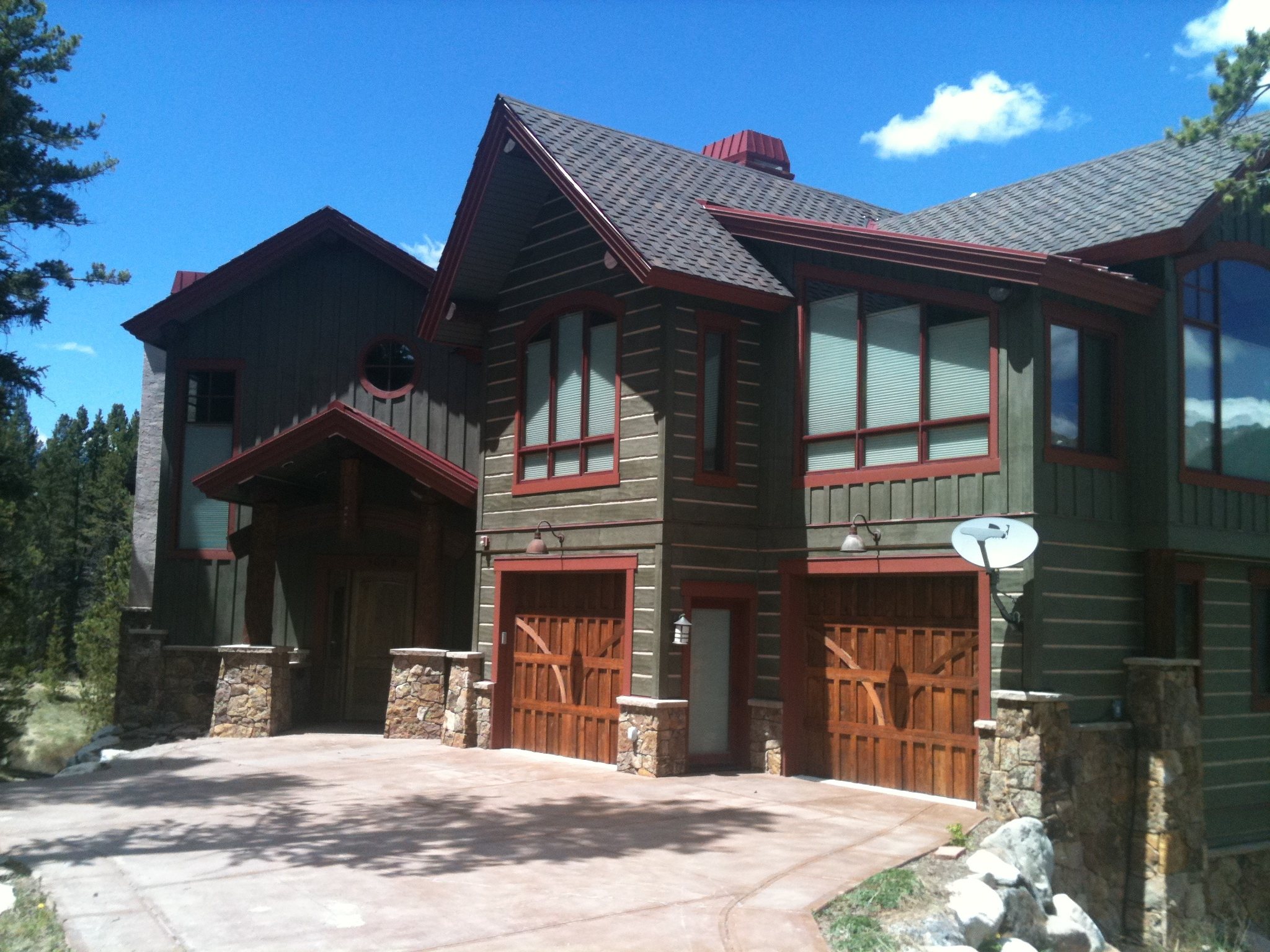 Exterior staining drcustompainting for Home finishes
