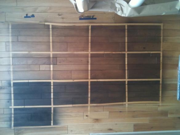 oak wood stain