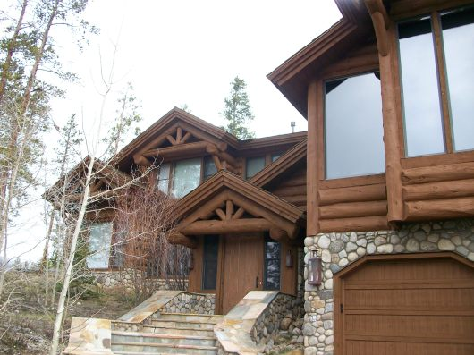 Exterior Staining - Keystone Colorado