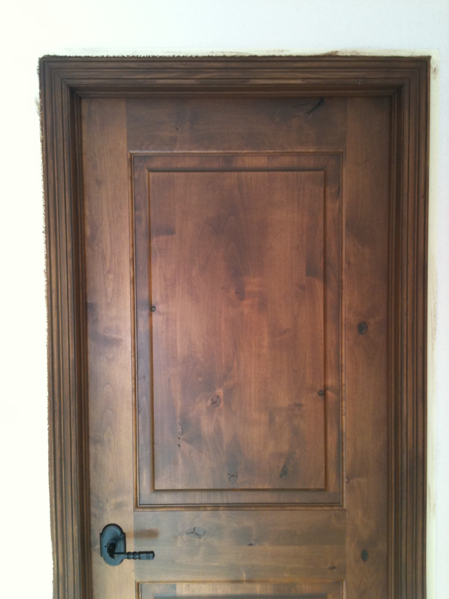 Painting Oak Kitchen Cabinets Espresso Interior Staining Alder Wood Method Drcustompainting