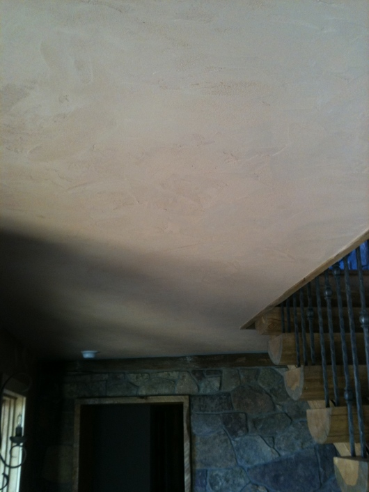 Clay Plaster Ceiling